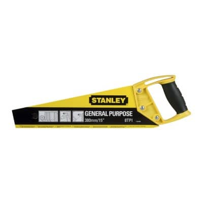 Ножовка Stanley OPP 380mm 8tpi, 1-20-084