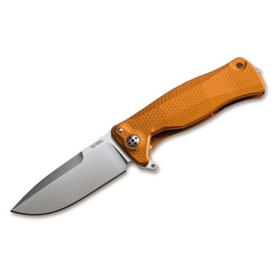 Нож LionSteel SR-22 Aluminum Orange Satin
