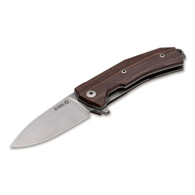 Нож LionSteel KUR Santos Wood
